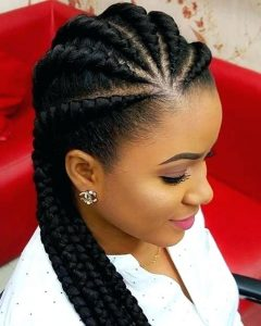 Cornrows Hairstyles For Black Woman