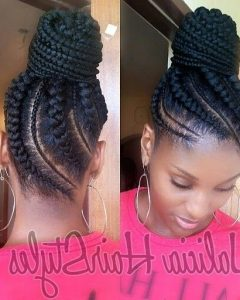 Cornrow Up Hairstyles