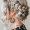 Crown Braid Updo Hairstyles (Photo 6 of 25)
