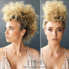Curly Mohawk Updo Hairstyles (Photo 5 of 25)