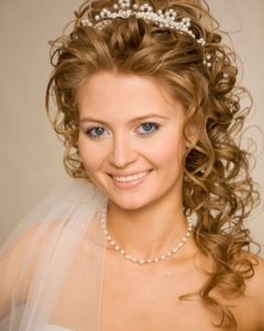Wedding Updos For Long Hair With Tiara