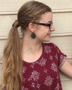 Cute And Carefree Ponytail Hairstyles