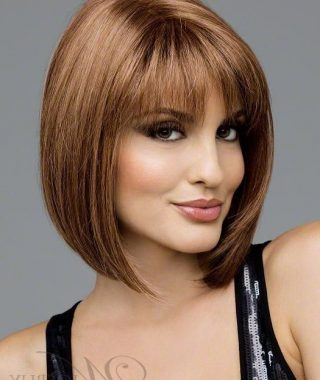 Stunning Poker-Straight Bob Hairstyles