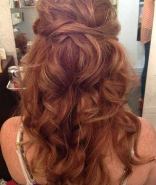 Long Hairstyles For Cocktail Party