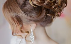 Curly Updos Wedding Hairstyles