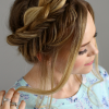 Fishtail Crown Braid Hairstyles (Photo 6 of 25)