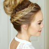 High Bun Hairstyles With Braid (Photo 5 of 25)