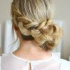Dutch Braid Bun Hairstyles (Photo 13 of 25)