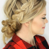 Messy Ponytail Hairstyles With Side Dutch Braid (Photo 5 of 25)