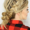 Messy French Braid With Middle Part (Photo 15 of 15)