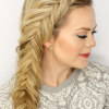 Over-The-Shoulder Mermaid Braid Hairstyles (Photo 14 of 25)