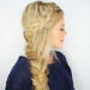 Fishtail Side Braid Hairstyles (Photo 20 of 25)