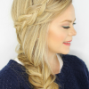 Fishtail Side Braid Hairstyles (Photo 5 of 25)