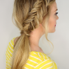 Fishtail Braid Pontyail Hairstyles (Photo 16 of 25)