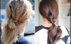 Knotted Ponytail Hairstyles