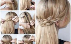 Easy Long Hair Half Updo Hairstyles