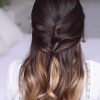 Long Half-Updo Hairstyles With Accessories (Photo 14 of 25)