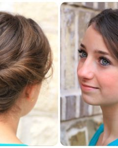 Cute Girls Updo Hairstyles