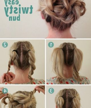 Long Hair Updo Hairstyles For Work