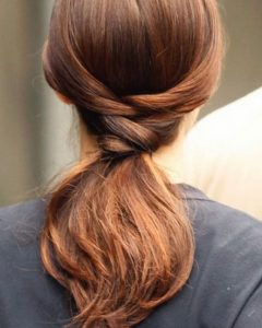 Tangled And Twisted Ponytail Hairstyles