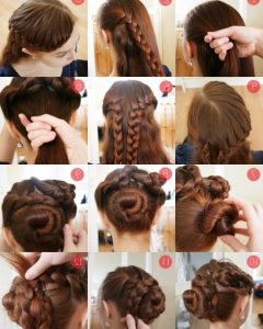 Easy Updo Hairstyles For Long Thick Hair