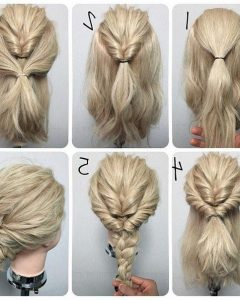 Easy Bridesmaid Hairstyles For Medium Length Hair