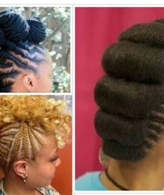 Braided Mohawk Haircuts