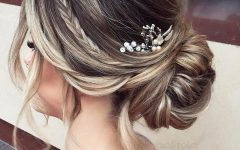 Elegant Bridal Hairdos For Ombre Hair