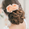 Low Bun Updo Wedding Hairstyles (Photo 7 of 15)
