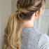 Low Twisted Flip-In Ponytail Hairstyles