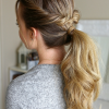 Low Twisted Flip-In Ponytail Hairstyles (Photo 2 of 25)