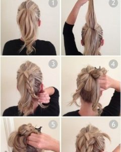Easy Long Hair Updo Everyday Hairstyles