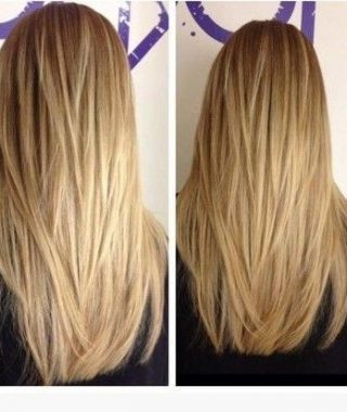 Long Hairstyles Layered Straight