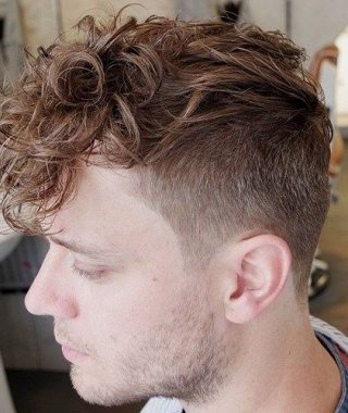 Curly Style Faux Hawk Hairstyles