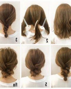 Updo Hairstyles For Shoulder Length Hair