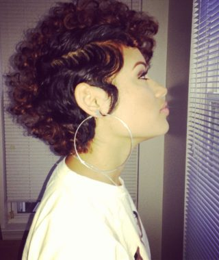 Short Curly Haircuts Tumblr