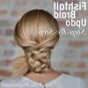 Fishtail Braid Updo Hairstyles (Photo 25 of 25)