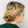 Low Braided Bun Updo Hairstyles (Photo 25 of 25)
