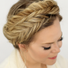 Fishtail Crown Braid Hairstyles (Photo 1 of 25)