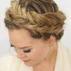 Fishtail Crown Braid Hairstyles (Photo 9 of 25)