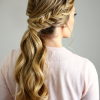 Ponytail Fishtail Braided Hairstyles (Photo 1 of 25)