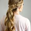 Fishtail Braid Pontyail Hairstyles (Photo 3 of 25)