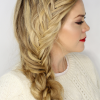 Fishtail Side Braid Hairstyles (Photo 16 of 25)