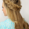 Fishtail Crown Braid Hairstyles (Photo 2 of 25)