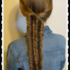 Mermaid Braid Hairstyles With A Fishtail (Photo 17 of 25)