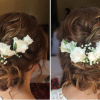 Floral Bun Updo Hairstyles (Photo 12 of 25)