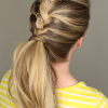 French Braids Pony Hairstyles (Photo 6 of 25)