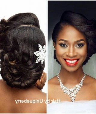 Wedding Hairstyles For Relaxed Hair