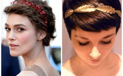 Short Haircuts With Headbands