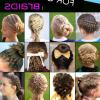 Braided Gymnastics Hairstyles (Photo 1 of 15)